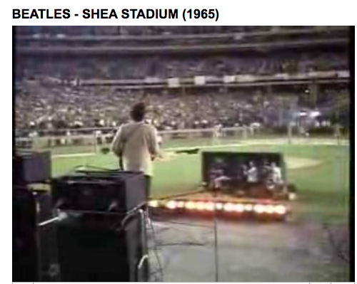 Beatles at Shea