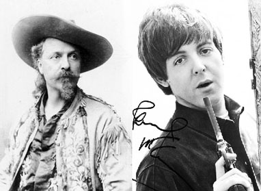 Paul McCartney as Buffalo Bill?